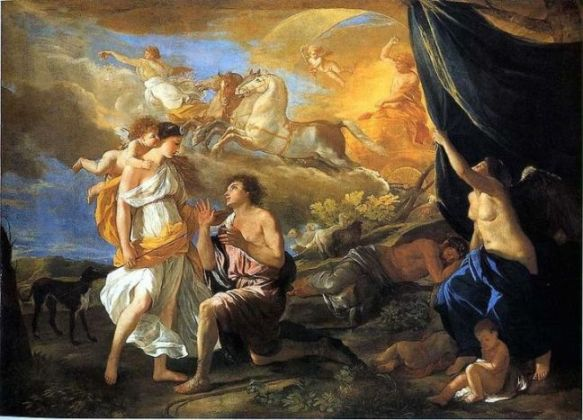 Nicolas Poussin - Diana and Endymion