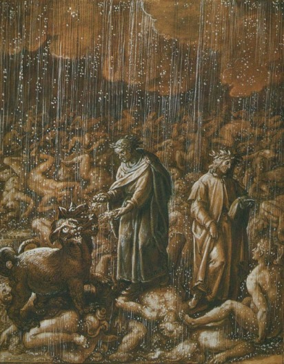Cerberus in Dante's Inferno