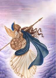 Pretty, really represents Athena. But can I really find and/or make a dress like that???