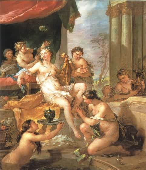 Psyche at her Toilette