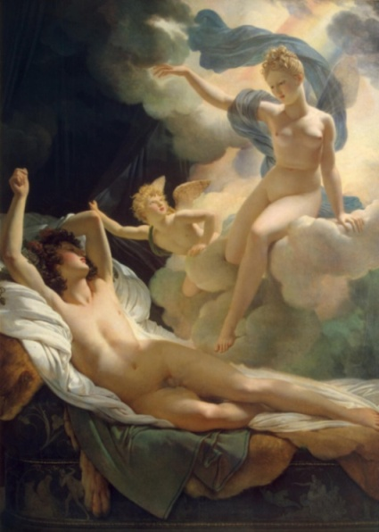 greek god Morpheus and Iris by Guerin