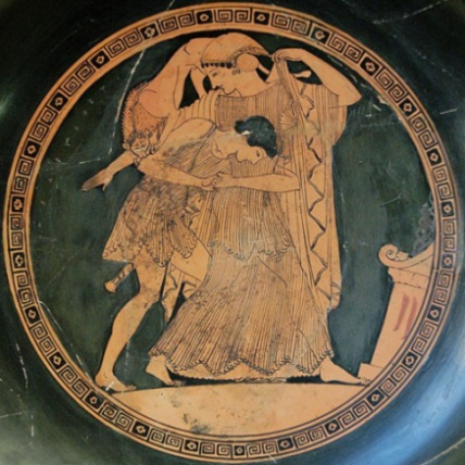 Peleus and Thetis as a lioness